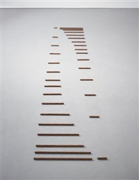 32-part reciprocal invention (rs 1971-20) by carl andre
