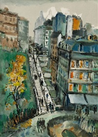 salita a montmartre (rue miller) by bepi liusso