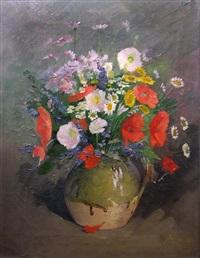 field flowers by nicolae angelescu