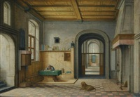 saint jerome in his study by hendrick van steenwyck the younger