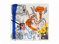 apocalypse 7 ( from apocalypse) by keith haring