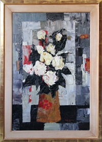 untitled (floral bouquet) by tony agostini