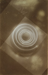 fotogramm (photogram with spiral shape) by lászló moholy-nagy