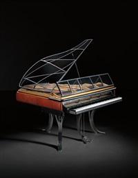 rare ph grand piano by poul henningsen