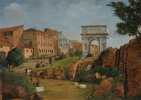vue de rome by michel brockeway
