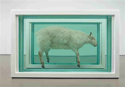 away from the flock divided by damien hirst