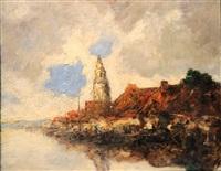a orillas de un canal holandes by stephen koek koek