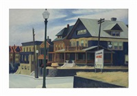 east wind over weehawken by edward hopper