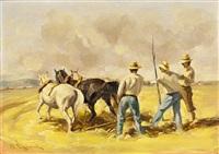 ploughing by vasilis germenis