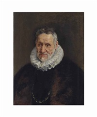 portrait of a bearded man by sir peter paul rubens