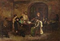 la taverne - à fleury-en-bière by joseph bail