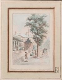 pavillon montmorency, boulevard montmartre by antoine louis françois sergent-marceau