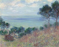 la côte de varengeville by claude monet
