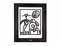untitled (kutztown) by keith haring