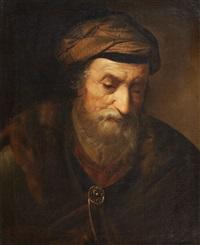 Christian Wilhelm <b>Ernst Dietrich</b> - christian-wilhelm-ernst-dietrich-head-of-a-prophet