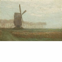 windmill by charles warren eaton