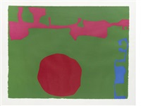 plate 11 (from january) by patrick heron