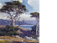 the sentinel, monterey coast by arthur hill gilbert