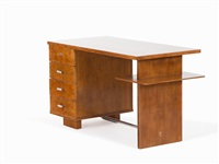 work desk by jindrich halabala
