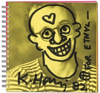 self portrait, for ethyl by keith haring