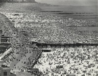 sunday at coney island by andreas feininger