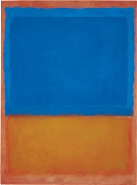 untitled (red, blue, orange) by mark rothko