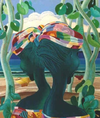 profils aux rubans multicolores by bernard séjourné