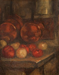 nature morte aux fruits by joseph bail
