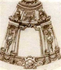 design for a rotunda by sir james thornhill