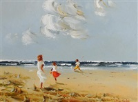 beach fun by thelma mansfield
