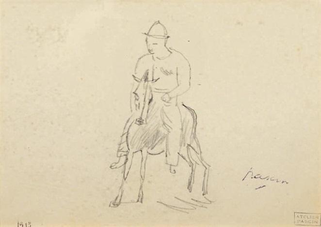 le cavalier by jules pascin