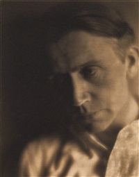 portrait of the photographer johann hagemeyer by edward weston