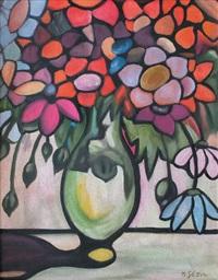 vase de fleurs by géza bornemisza