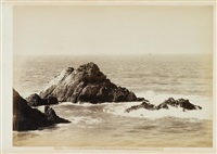 seal rocks, california by eadweard muybridge