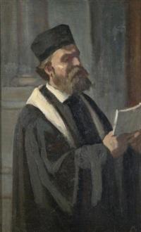 the cantor by edouard moyse