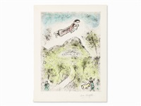 from 'celui qui dit les choses' by marc chagall