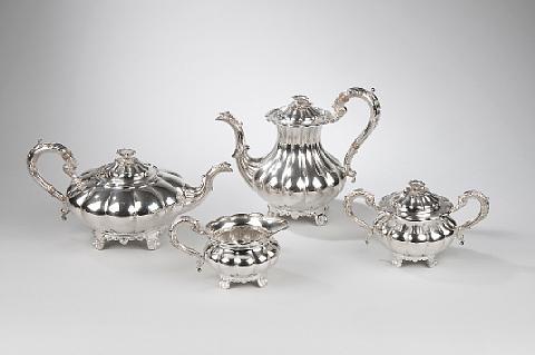 tea and coffee set (4 pieces) by c.j. vander ltd
