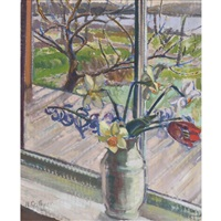 view into the garden by nora frances elisabeth collyer