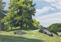 sugar maple by edward hopper