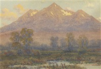 mt. princeton autumn afternoon by charles partridge adams