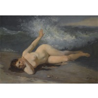 the bather by firs sergeyevich zhuravlev