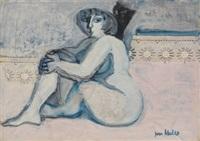 mujer con puntillas by juan alcalde