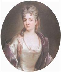 portrait de femme by joseph vivien