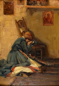 the prayer (+ another; 2 works) by vasilis germenis