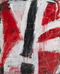 red/black/white no. 3 by john anthony (tony) tuckson