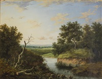 a view in hampshire by patrick nasmyth