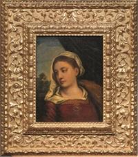 vergine by titian (tiziano vecelli)