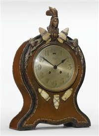 mantel clock by joseph heinrich