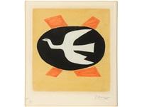 l'oiseau de feu (v. 121) by georges braque