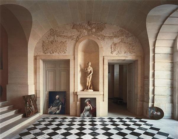 galerie basse, château de versailles by robert polidori
